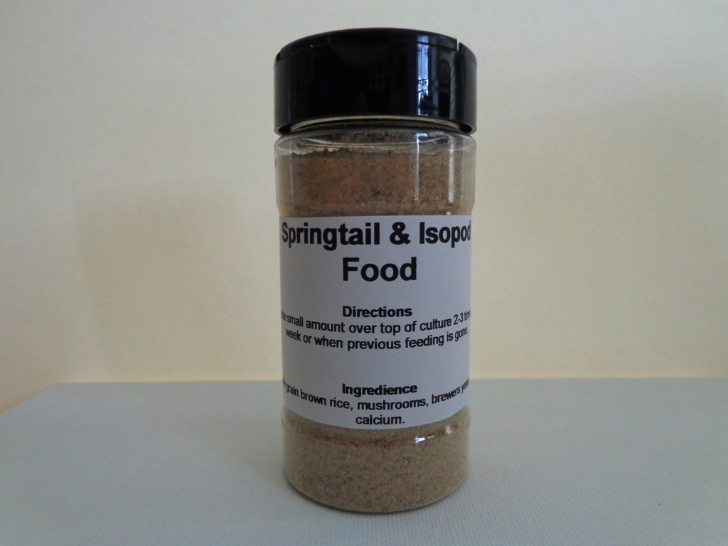 Buy Springtail and Isopod Food at CrittersDirect com