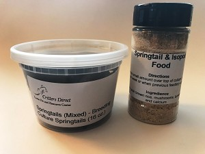 Springtails + Food Combo Package